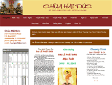 Tablet Preview of chuahaiduc.org